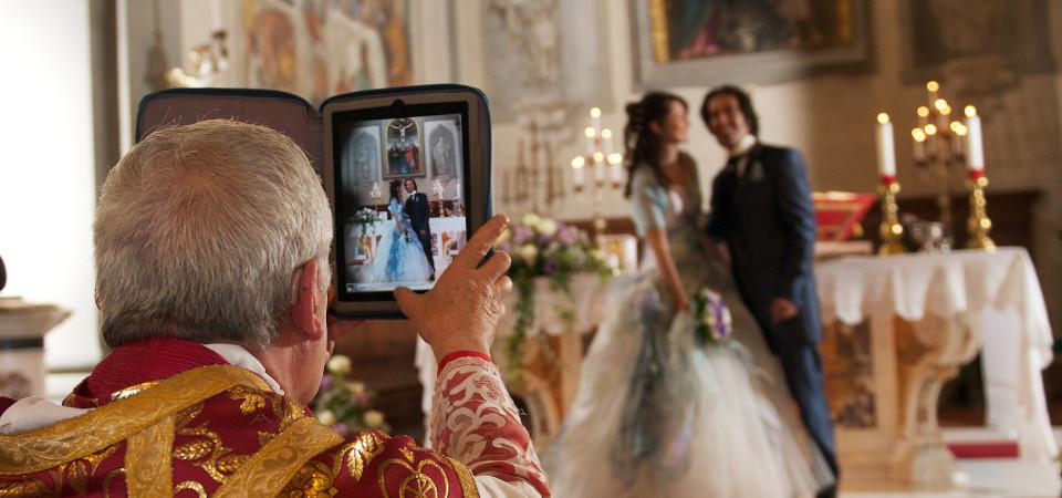 matrimonio con Ipad